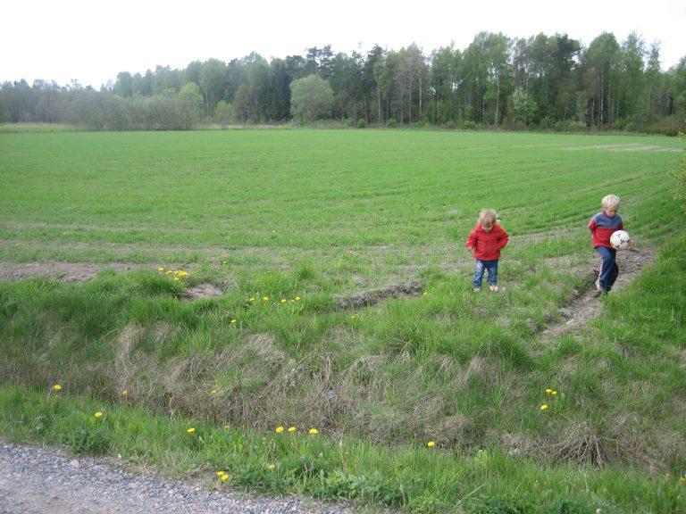 Ny idrottsplats i Sjövik.